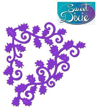 Sweet Dixie Metal Die - ЩАНЦИ SWIRLY HOLLY