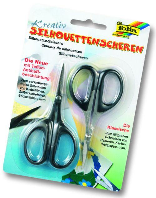 FB SILHOUETTE scissors - К-кт 2бр декупажни и скрaпбукинг ножици
