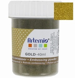 ARTE EMBOSSING POWDER 40ml - Фина ембосинг пудра GOLD