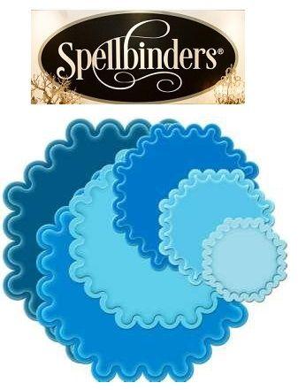 Spellbinders USA - Метални шаблони за изрязване и ембос S4-187