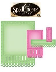 Spellbinders USA NEW - шаблон за изрязване и ембос s5-135