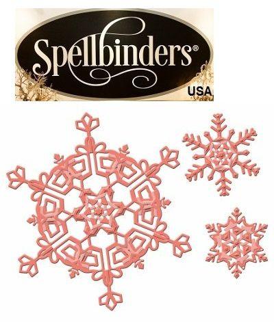 Spellbinders USA - К-кт шаблони за изрязване и ембос S5-186