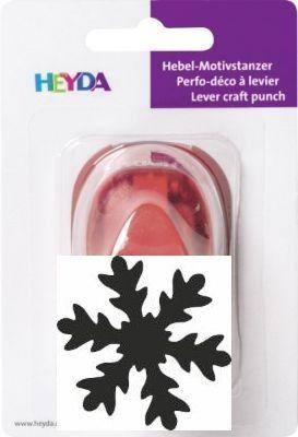 HEYDA  Punch 16mm - Дизайн пънч СНЕЖИНКА