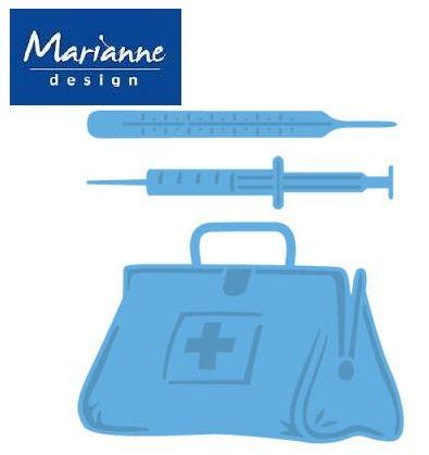 Marianne Design - Шаблон за рязане и ембос LR0363
