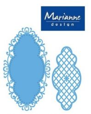 Marianne Design DIE - Шаблон за рязане и ембос LR0272