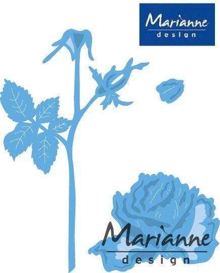 Marianne Design - Шаблон за рязане и ембос LR0455
