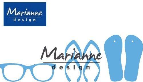 Marianne Design - Шаблон за рязане и ембос LR0477