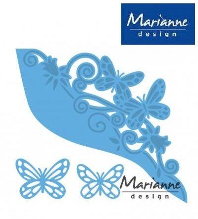 Marianne Design - Шаблон за рязане и ембос LR0456