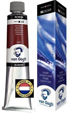 VAN GOGH OIL - Маслена боя 200 мл. - LIGHT OXIDE RED / 339