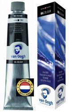 VAN GOGH OIL - Маслена боя 200 мл. - IVORY BLACK / 701