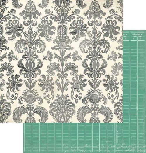 MME USA # STRICTLY BUSINESS 12 X 12  - Дизайнерски скрапбукинг картон 30,5 х 30,5 см.