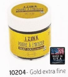 ALADINE EMBOSSING POWDER , USA - ДЕТАЙЛНА ембосинг пудра 25ml GOLD EXTRA DETAIL