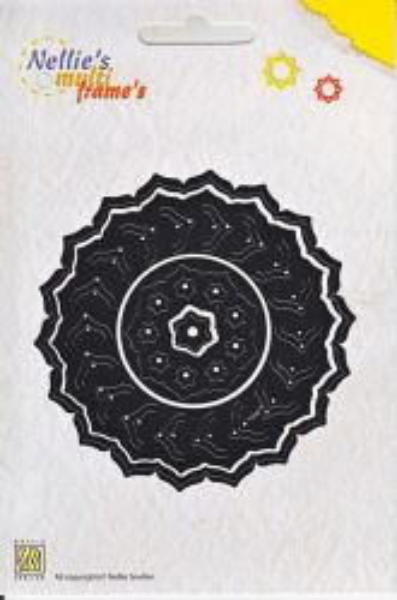 FRAMES Nellie Snellen - Орнаментни щанци за рязане и релеф, 4 бр. MFD041