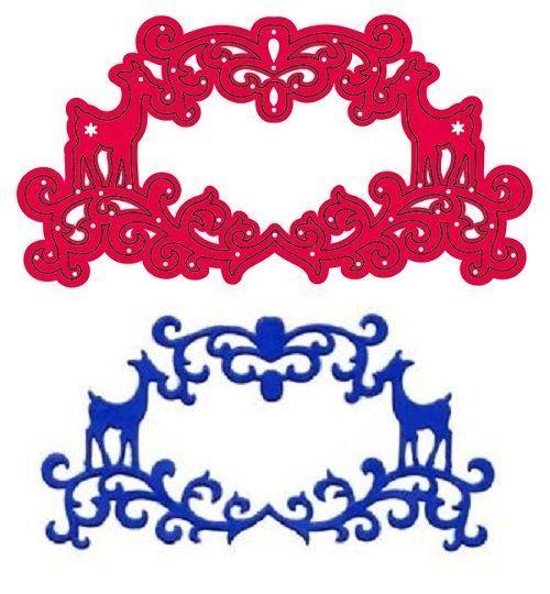 CRAFTS TOO New Cutting Stencil - Дизайн щанци за рязане