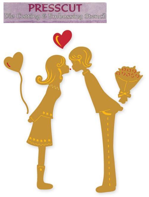 LOVE PRESSCUT DIE - Дизайн щанци за рязане pcd36