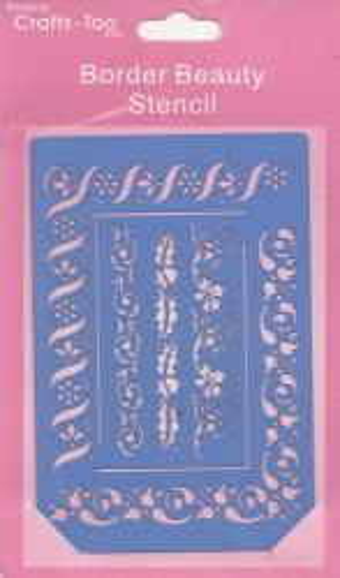 CRAFTS HOBBY - Метален ембос шаблон 100 x 150 mm,