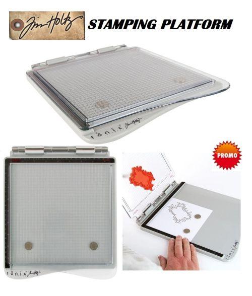"Tim Holtz Stamping Platform 8.5""X8.5"" - Уред за отпечатване 21.5cm /1707E"