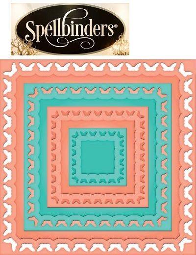Spellbinders USA DIES - шаблони за изрязване и ембос 4бр