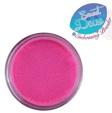 SD EMBOSS POWDER - Фина ембосинг пудра, Candy Razzberry Pink