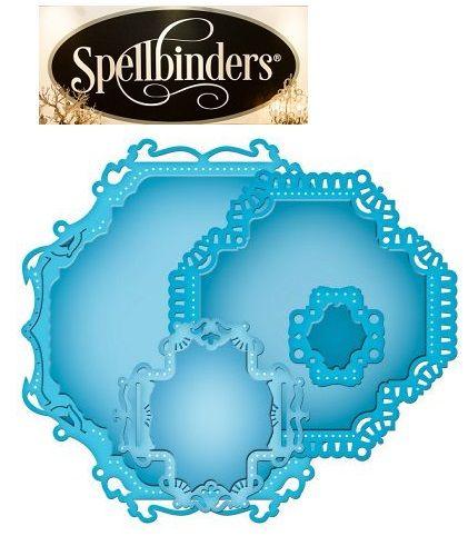 Spellbinders USA - Универсални шаблони за изрязване и ембос