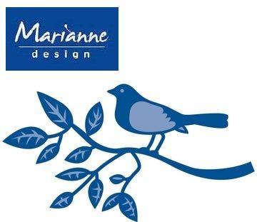 Marianne Design - Шаблон за рязане и ембос LR0138