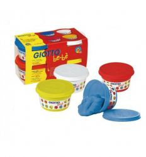 GIOTTO BEBE - Пластелин за бебе/ малко дете (2+)