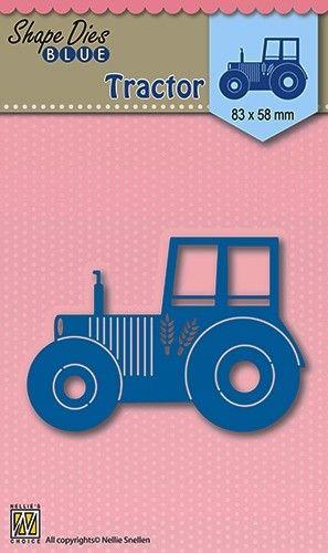 """AUTO DIES """"tractor"""" 83x58cm - Фигурална щанца за рязане и релеф SDB003"""
