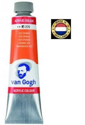 VAN GOGH Superfine ACRYLIC 276 - ЕКСТРА Фин АКРИЛ40мл. ORANGE