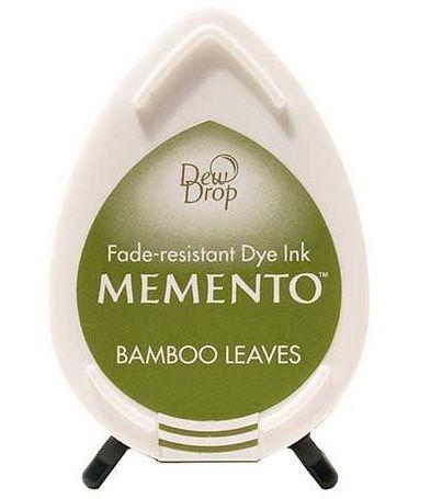 MEMENTO DEW DROP  - Тампон с ярък отпечатък BAMBOO LEAVES