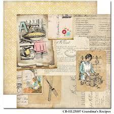 CARTA BELLA USA # HOME MADE WITH LOVE - Двустранен дизайнерски картон 30,5 х 30,5 см.