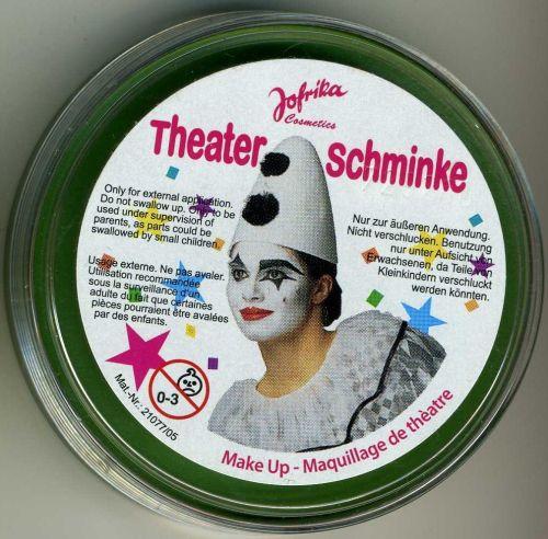 Jofrika-Germany, професионална грим-боя за лице и тяло 25гр. - ЗЕЛЕНО