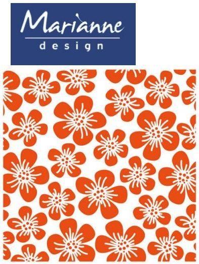 Marianne Design Emboss folder - Папка за релеф  12x12 см