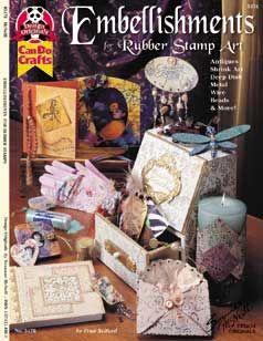 EMBELISHMENTS , RUBBER STAMP ART - Книжка наръчник
