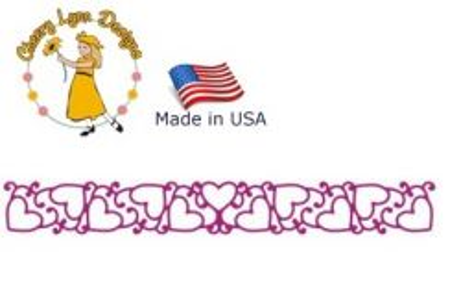 Cheery Lynn ,USA - Шаблон за рязане и ембос Бордюр143