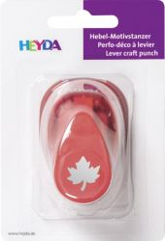 HEYDA  Punch  MAPLE LEAF 16mm - Дизайн пънч КЛЕНОВО ЛИСТО