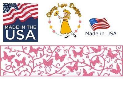 Cheery Lynn ,USA - Шаблон за рязане и ембос / b401