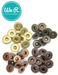 EYELETS  We R Memory Keepers - АЙЛЕТИ / КАПСИ COPPER WARM METAL