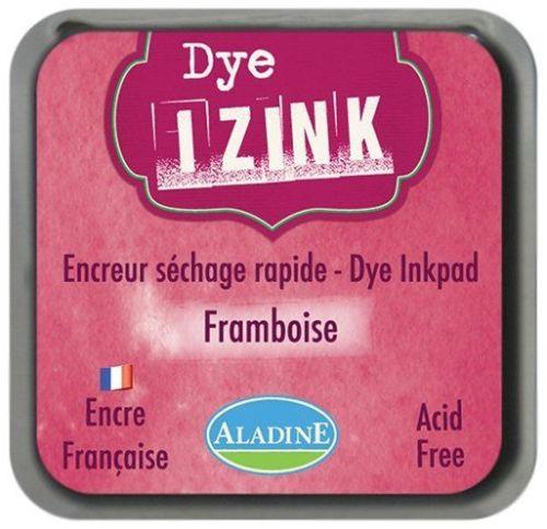 IZINK DYE MIDI PAD   - Тампон с ярък отпечатък BORDO FRAMBOISE