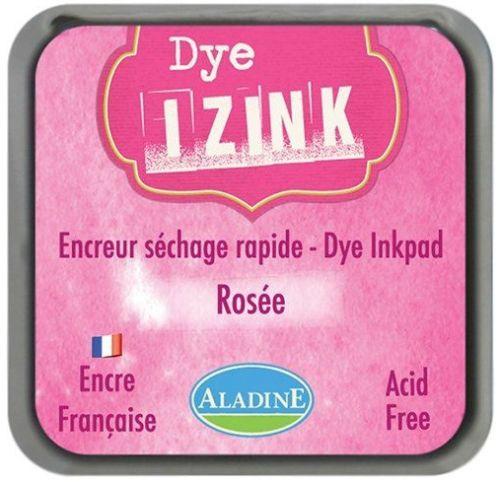 IZINK DYE MIDI PAD   - Тампон с ярък отпечатък ROSE