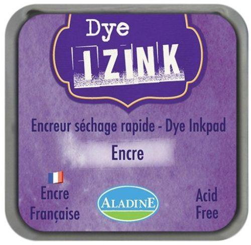 IZINK DYE MIDI PAD   - Тампон с ярък отпечатък VIOLET ENCRE