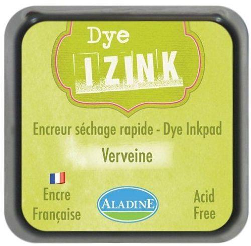 IZINK DYE MIDI PAD   - Тампон с ярък отпечатък GREEN LT  VERVEINE
