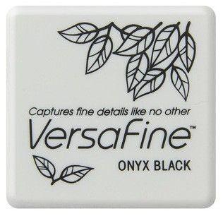 VERSAFINE Small Pad - Тампон с високо покривно мастило ONYX BLACK