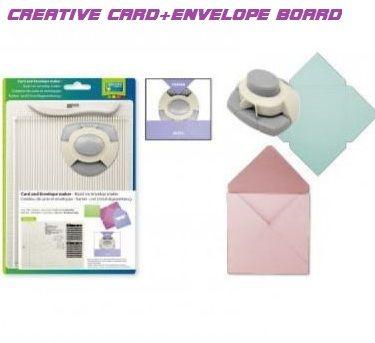 BOARD & PUNCH * CREATIVE CARD + ENVELOPE  - Уникален уред за пликове и картички + пънч