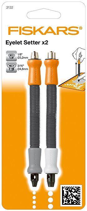 EYELET SETTERS FISKARS - Комплект инструменти за монтиране на 2 размера айлети/капси/