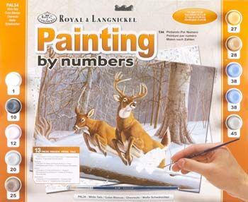 R&L,USA - Рисуване по номера  А3- * PAL34