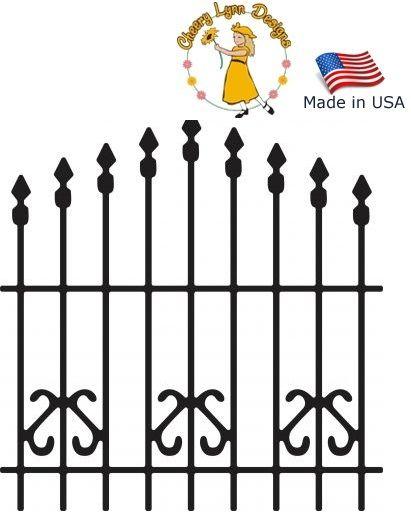 FENCE Cheery Lynn ,USA - Шаблони за рязане и ембос / b196