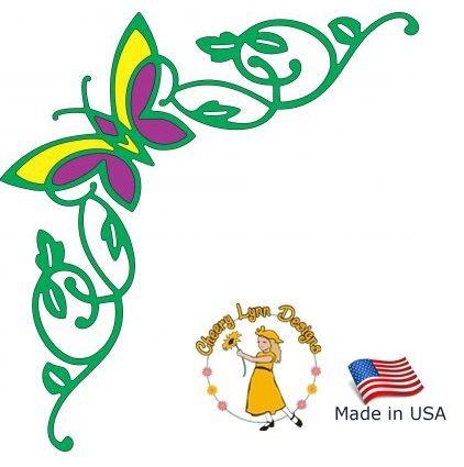 Cheery Lynn ,USA - Шаблон за рязане и ембос b204