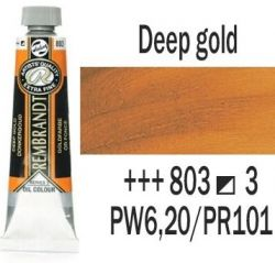 REMBRANDT Екстра Фини Маслени Бои 40 мл. - Deep Gold 3, № 803