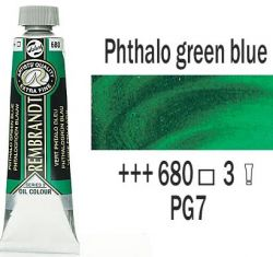 REMBRANDT Екстра Фини Маслени Бои 40 мл. - Phthalo Green Blue 3, № 680