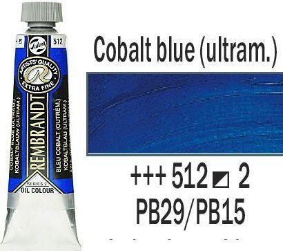 REMBRANDT Екстра Фини Маслени Бои 40 мл. - Cobalt Blue (Ultr.) 2, № 512